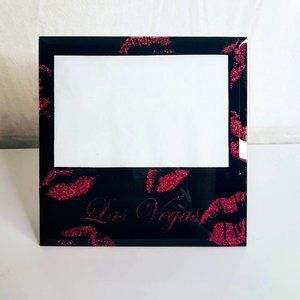#H22 Las Vegas Pink Lips Picture Frame